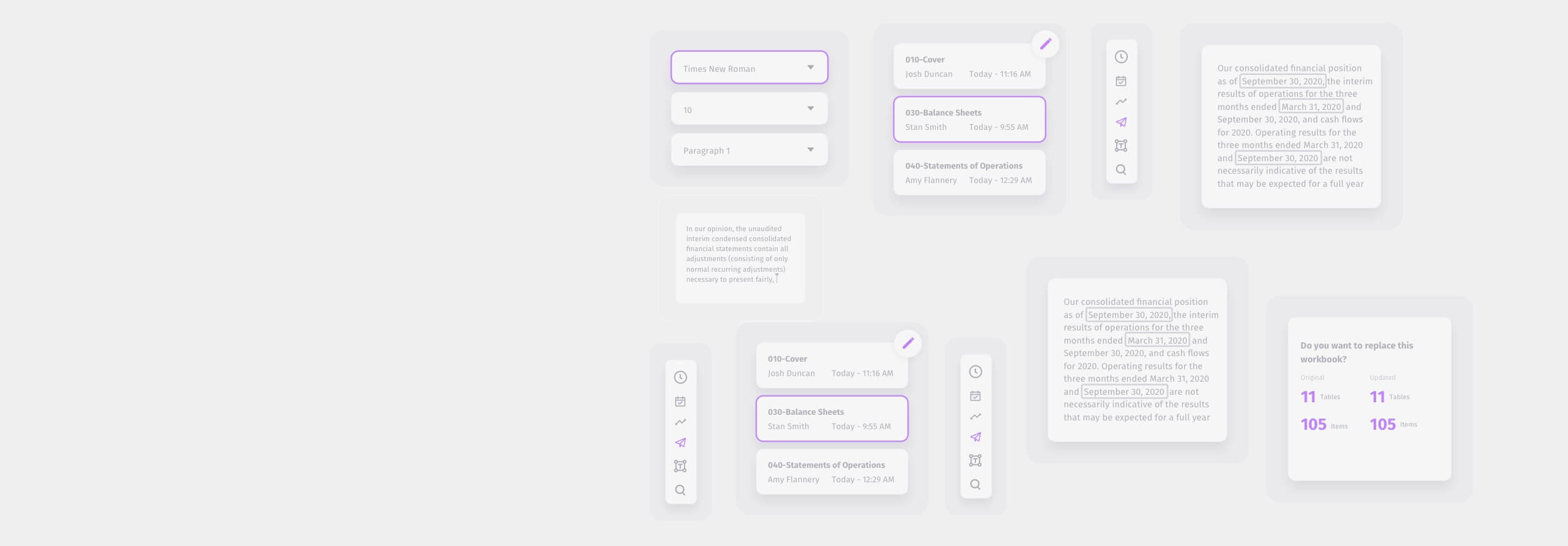 ActiveDisclosure UI